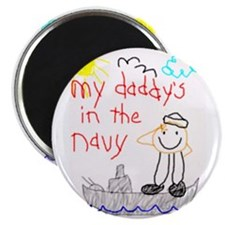 "Navy Dad 2.25"" Magnet (10 pack)"