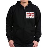 Pains and Gains Zip Hoodie (dark)