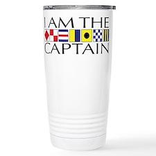 I am the Captain Travel Mug