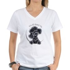 Black Poodle IAAM Full Shirt