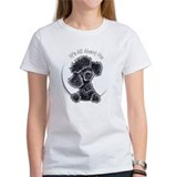 Black Poodle IAAM Full Tee