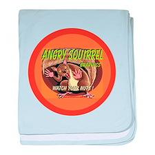 AAA Squirrel - baby blanket