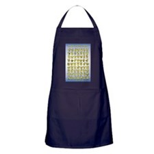 How Do You Feel Today? Apron (dark)