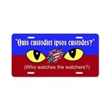 Who watches Aluminum License Plate