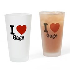 I love Gage Drinking Glass