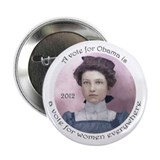 "Obama for Women's Rights 2.25"" Button"