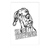 Slop Happens UC B&W Postcards (Package of 8)