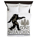 Gone Squatchin Queen Duvet