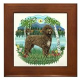 Birches - PWD(brn) Framed Tile