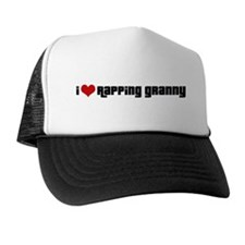 I Love Rapping Granny II Trucker Hat