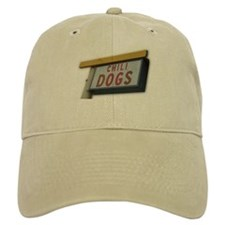 Cute Crazy dog Baseball Cap