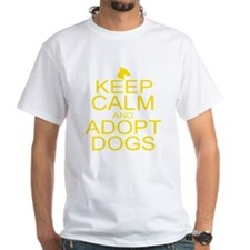 Keep Calm and Adopt Dogs Shirt