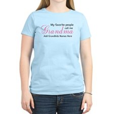 Grandma Personalized T-Shirt