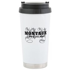 Montauk Long Island NY Ceramic Travel Mug