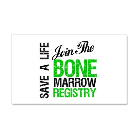 Join The Bone Marrow Registry Car Magnet 20 x 12