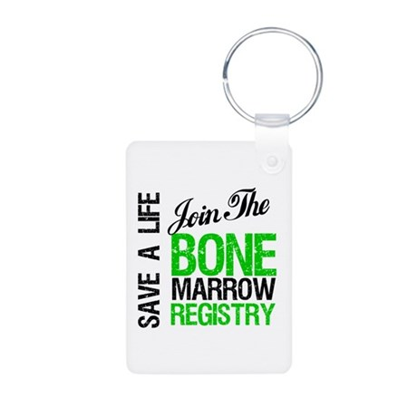 Join The Bone Marrow Registry Aluminum Photo Keych