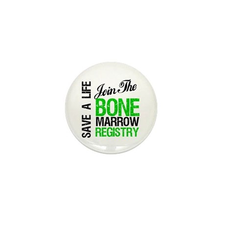 Join The Bone Marrow Registry Mini Button (100 pac
