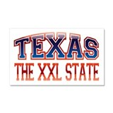 TEXAS - The XXL State Car Magnet 20 x 12