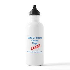 Rescue Dogs ROCK! Water Bottle