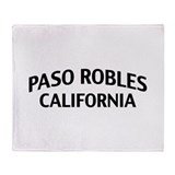 Paso Robles California Throw Blanket