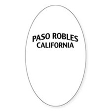 Paso Robles California Decal