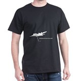 All your base bomber Black T-Shirt