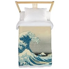 Hokusai Great Wave Twin Duvet