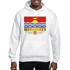 """""""kiribati Flag"""" Hoodie"""