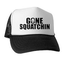 AUTHENTIC Bobo GONE SQUATCHIN Trucker Hat
