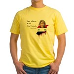 Asma al Assad - Let them eat Yellow T-Shirt