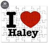 I love Haley Puzzle