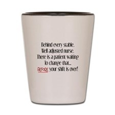Nurse Humor Shot Glass