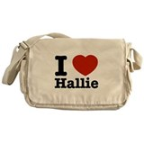 I love Hallie Messenger Bag