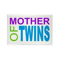 MOTHER OF TWINS Rectangle Magnet (100 pack)