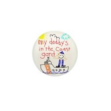 Coast Guard Daddy Mini Button (10 pack)