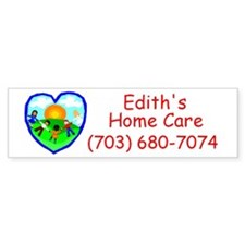 Edith's Home Care Bumper Bumper Sticker