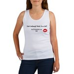 Rush Limbaugh Thinks I'm A Sl Women's Tank Top