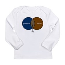 Gentleman & Scholar Long Sleeve Infant T-Shirt