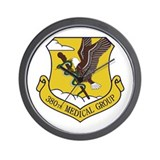 380th Medical Group Wall Clock