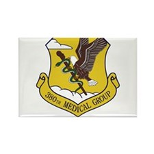 380th Medical Group Rectangle Magnet