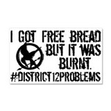 Free Bread Car Magnet 20 x 12