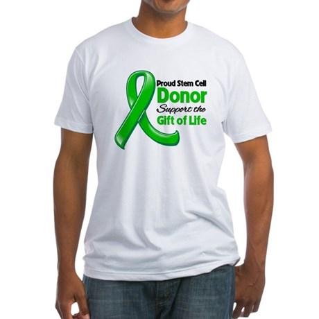 Proud SCT Donor Fitted T-Shirt
