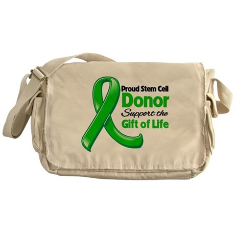 Proud SCT Donor Messenger Bag