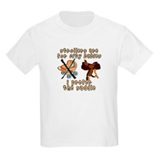 Prefer the Saddle design Kids T-Shirt