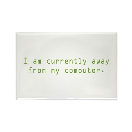 Currently Away Rectangle Magnet (10 pack)
