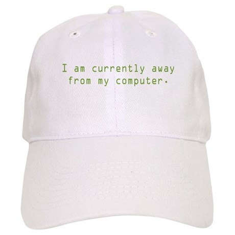 Currently Away Cap