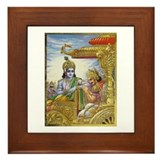 Unique Arjun Framed Tile
