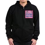 The Easter Bunny Zip Hoodie (dark)