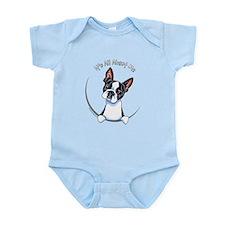 Boston Terrier IAAM Full Infant Bodysuit