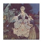 Dulac's Cinderella & Godmother Tile Coaster